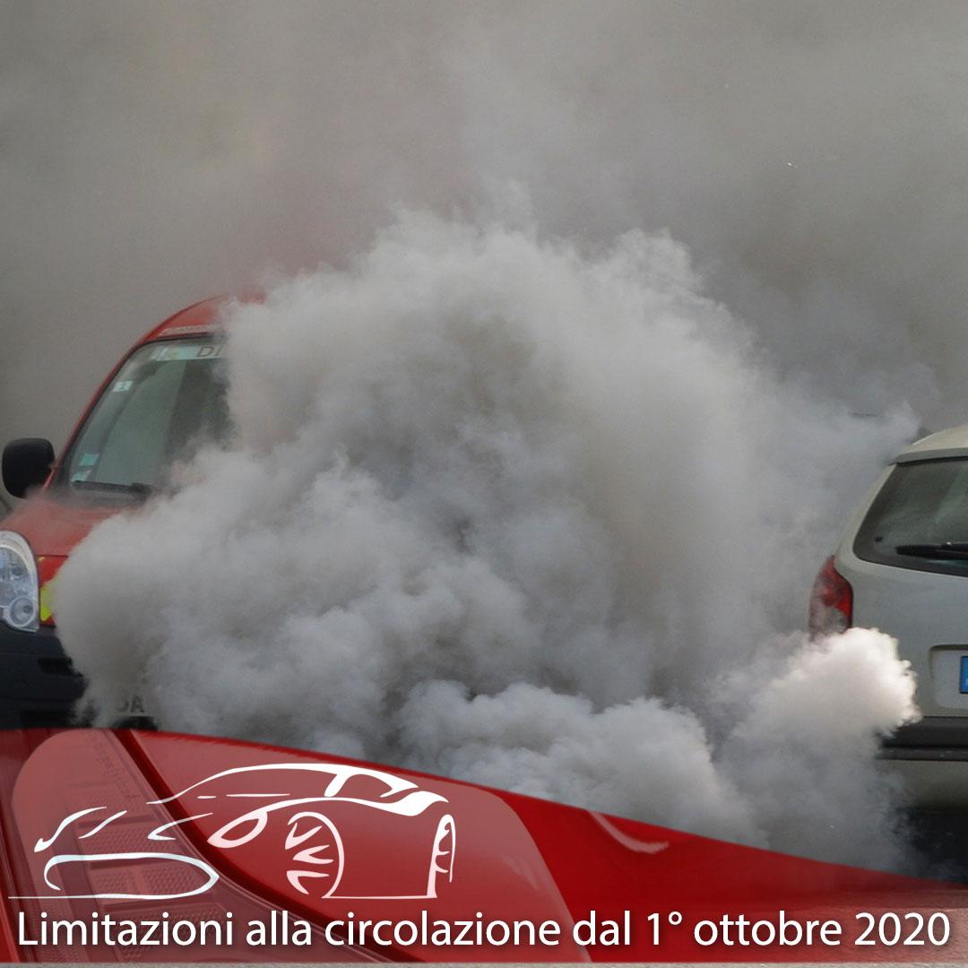 Limitazioni alla circolazione dal 1° ottobre 2020
