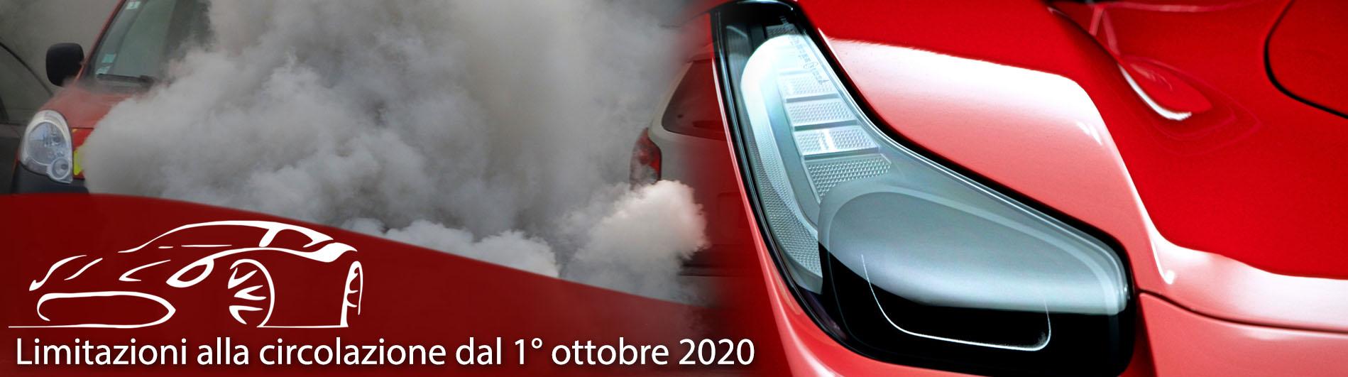 Limitazioni alla circolazione dal 1° ottobre 2020 - Carrozzeria Ventimiglia, Torino